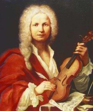 Presumido retrato de Antonio Vivaldi (anônimo, século XVIII) preservado no Museu Internacional e Biblioteca de Música de Bolonha