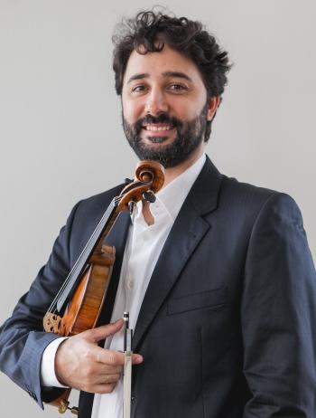 Márcio Cecconello - Solista Violino Barroco