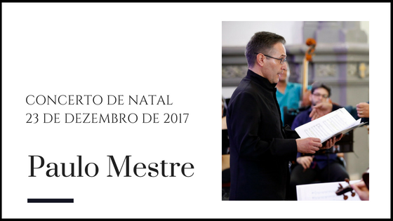 Paulo Mestre - Contratenor