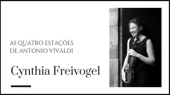 Cynthia Freivogel - violinista barroca